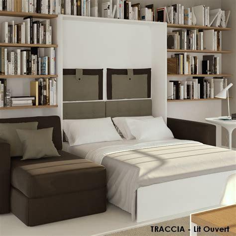 lits escamotables avec canape letplace