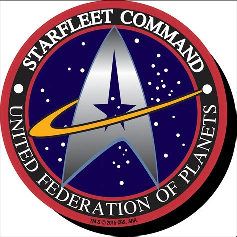 star trek starfleet logo funky chunky magnet