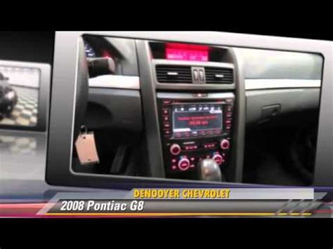 Denoyer Chevrolet by Used 2008 Pontiac G8 Used Albany Ny