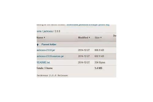 Jackcess jar free download :: inengalki