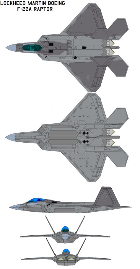Lockheed Martin F22a By Bagera3005 On Deviantart