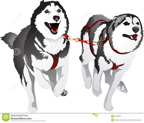 Dog Sled Clipart - Clipart Suggest