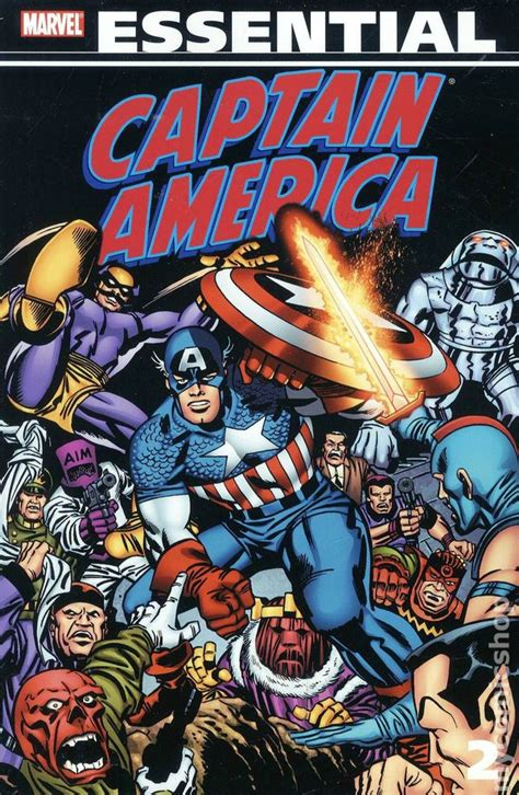 Essential Captain America TPB (2008- Marvel) 2nd Edition ...