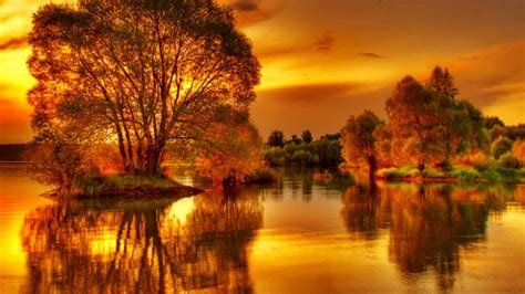 On Golden Pond Wallpaper And Background Image 1366x768