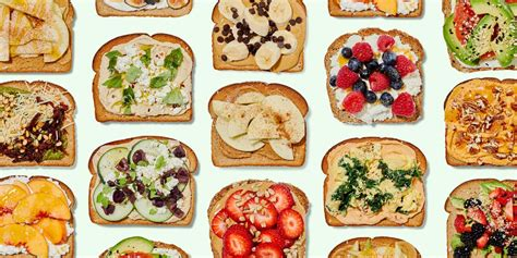 15 Healthy Toast Recipes - Filling Breakfast Toast Ideas