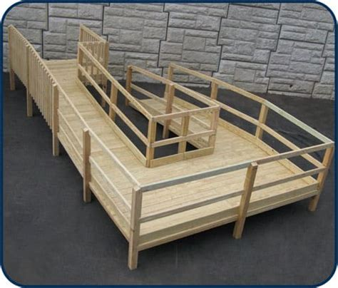 des moines wooden wheelchair ramps accessnsm