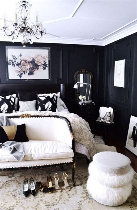 Bedroom Black And White Color by Trendy Color Schemes For Master Bedroom Decor10