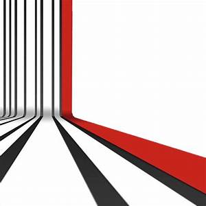 Bent Black and Red Stripes Pattern Background Freebie ...