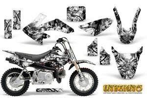 5.0 out of 5 stars based on 4 product ratings(4). HONDA CRF 50 GRAPHICS KIT CREATORX DECALS STICKERS INFERNO ...