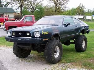 1974 Ford Mustang II 4x4 at the 2009 Ozark 4 Wheel Jamboree Nationals in Greene Missouri ...