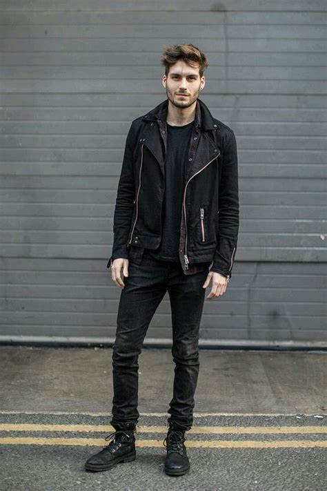 Men Fashion Guide Wearing All Black Onpointfresh