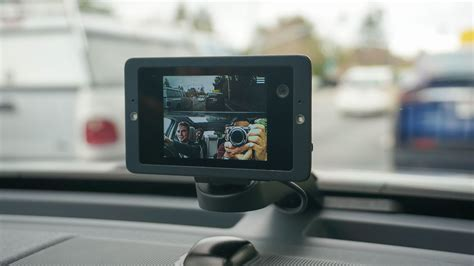 owls web connected voice activated dashcam  pretty