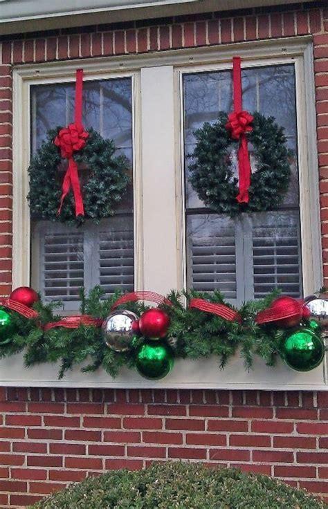 Blumenkübel Weihnachtlich Dekorieren by Window Decorations For Beautiful Discreet And