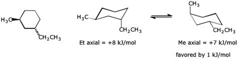 methylcyclohexane chair