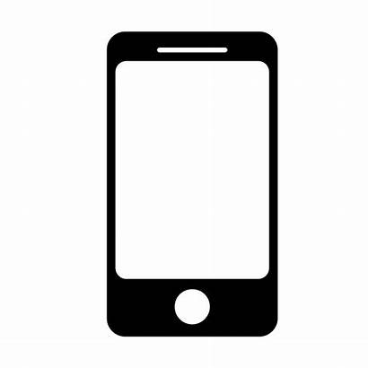 Mobile Icon Apps Devices Teaching Clipart Cellular