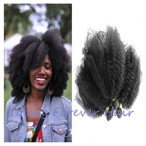 queen cheap natural afro hair extensions tangle