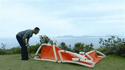 Tent Inflatable Gadgets Geeky Cumbersome Pack