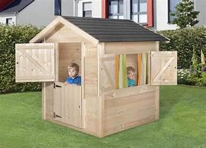 Kinder Holzhaus Garten : kinderspielhaus aus holz selber bauen ~ Frokenaadalensverden.com Haus und Dekorationen