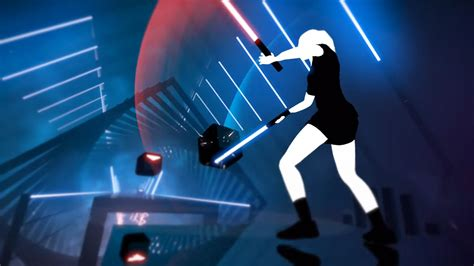 beat saber is a fusion of ddr and lightsaber combat that we never knew we wanted techristic