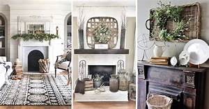 14, Glorious, Rustic, Mantel, Decor, Ideas, You, U2019ll, Fall, Head, Over, Heels, In, Love, With