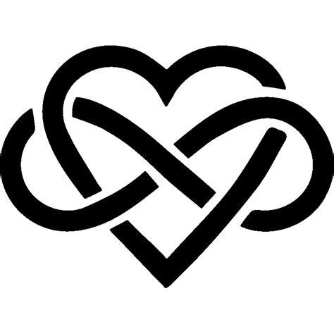chambre desing sticker symbole amour infini