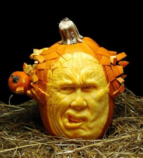 how to create an amazing pumpkin sculptures interior design