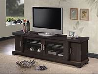 70 inch tv stand Wood TV Console 70-Inch Stand Contemporary Entertainment ...
