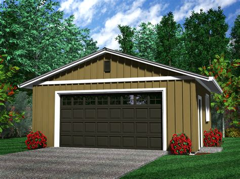 Amazing 2 Car Garage Plans #5 2 Car Detached Garage Plans