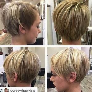 Coupe Cheveux 2018 Femme : coupe de cheveux courtes femmes 2018 ~ Melissatoandfro.com Idées de Décoration