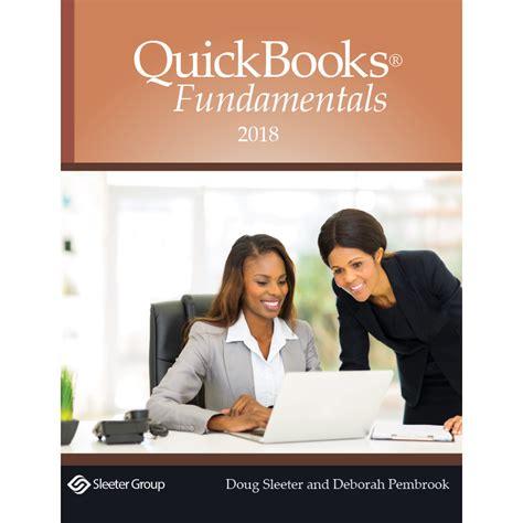 QuickBooks 2018 Fundamentals Textbook - Questiva Consultants