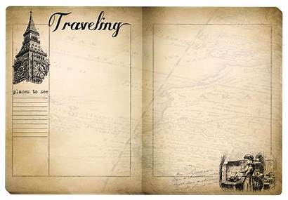 Journal Travel Printable Pages Printables Edition Antique