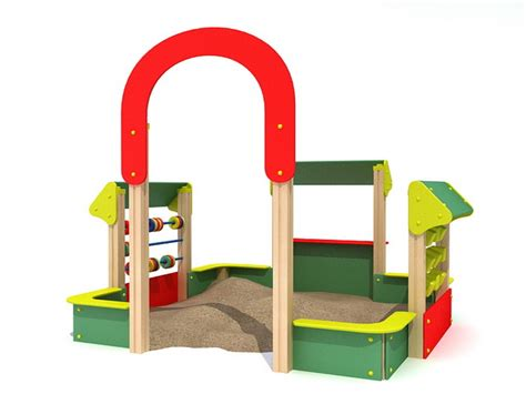 Kids Outdoor Sand Pit 3d Model 3ds Max Files Free Download