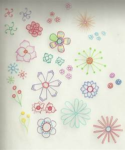 Hipster Flower Tumblr Drawings