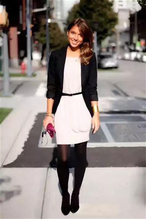 Vestido con medias negras y saco negro | Ropa | Pinterest | Html
