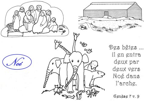 coloriages de quelques personnages de la bible