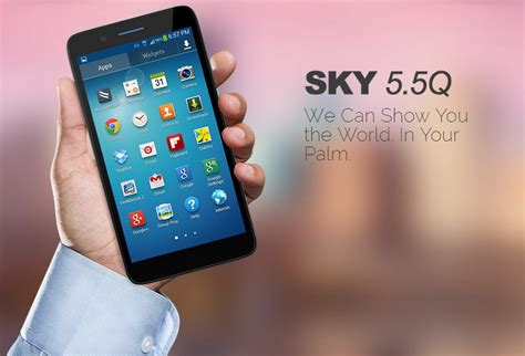 sky cell phone wholesale brand new sky 5 5q white 4g android gsm unlocked