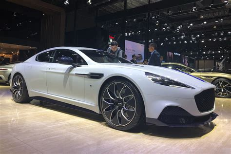 Aston Martin Rapide E revealed in production specification ...