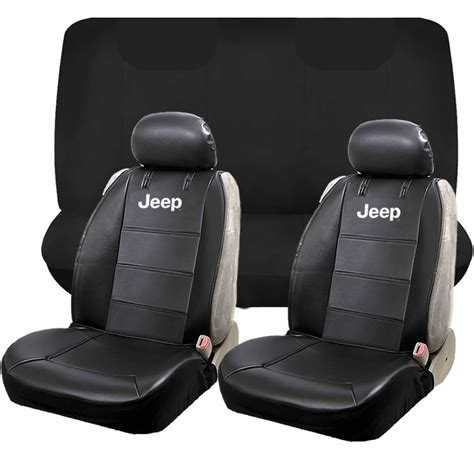 jeep mopar elite classic sideless synthetic leather seat