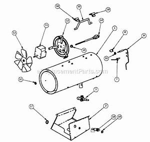 Mr  Heater Mh35fa Parts List And Diagram