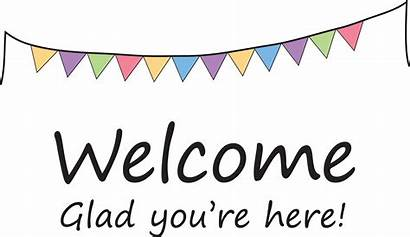 Welcome Banner Clipart Signs Template Clipartmag