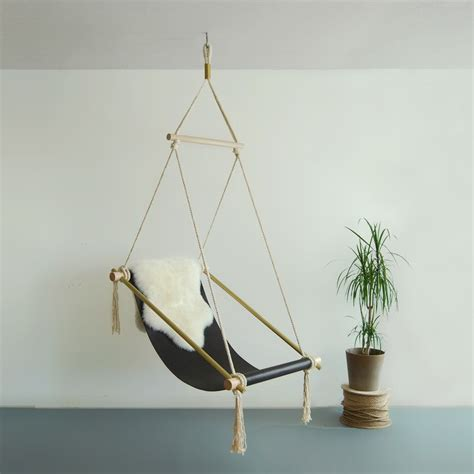 hanging chair    chic indoor hammock swing