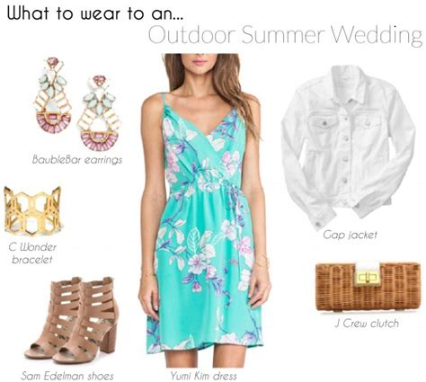 four to wear to a summer wedding