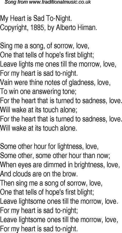 Sad Song Lyrics Quotes Quotesgram