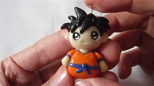 Tutorial  Goku Polymer Clay Charm  U609f U7a7a