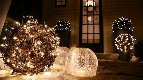 simple elegant christmas lights outside outdoor christmas decorations