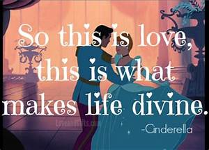 "20 Sweet Love Quotes from Disney Movies - ""So this is love ..."