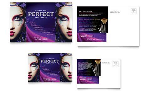 makeup artist flyer ad template design