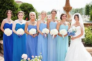 Shades Of Blue Bridesmaid Dresses | Good Dresses