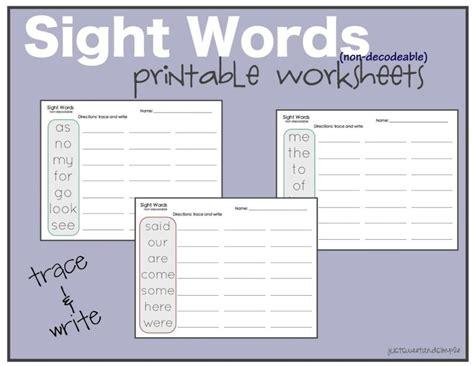 worksheets for kindergarten sight words worksheet mogenk paper works