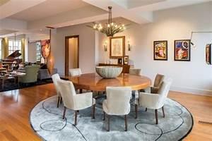 salle a manger design original choisissez table manger chaise With salle À manger contemporaineavec table ronde et chaises salle À manger